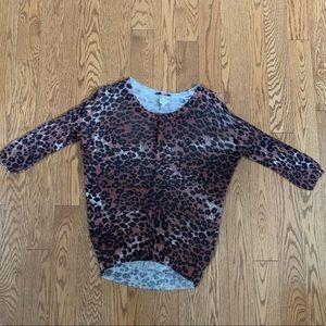 Aritzia Leopard Print Sweater ✨
